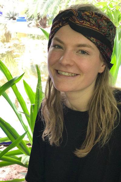 Een foto van Mila Tibboel in Jardin Majorelle